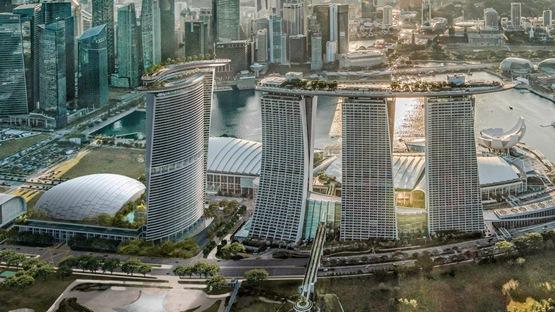 新加坡滨海湾增加第四座塔楼(组图)