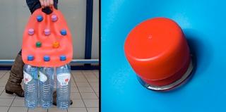 塑料瓶载体,捡垃圾者的福利
