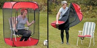 椅子帐篷的设计带来了更好的户外体验