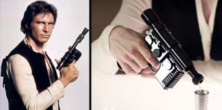 这款《星球大战》中的爆能手枪其实是烧瓶!