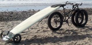 带越野性能的三轮自行车设计