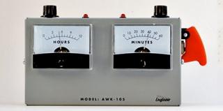 这不是电压表,这是闹钟!