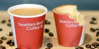肯德基的可食用咖啡杯是不是很nice?