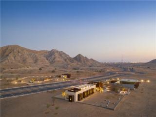 阿联酋Al Faya Lodge酒店,沙漠中的世外桃源