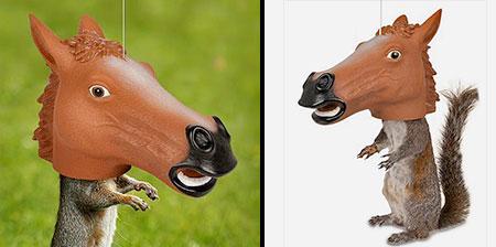 搞笑的马头松鼠给料机设计