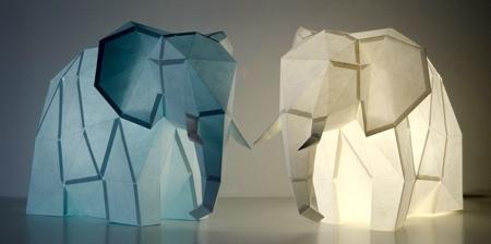 DIY创意动物纸灯设计