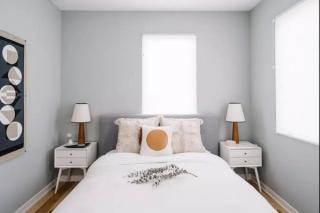 还在嫌<9㎡的小卧室挤吗?看看这些设计照样住得舒适!