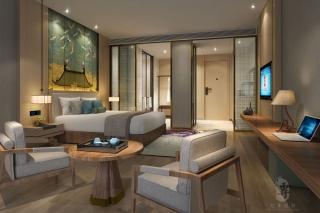 星级酒店设计大堂空间