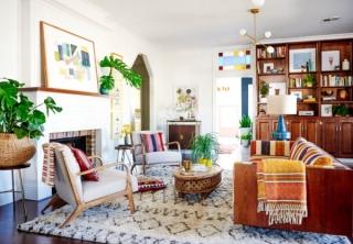 多姿多彩的波西米亚风格之家,给你新鲜的灵感