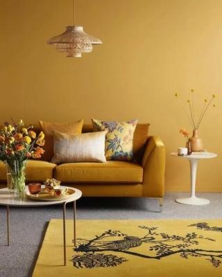 温馨的家,仅需要一点暖色就能体现!