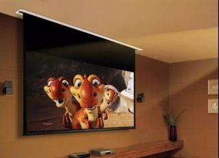 在家看电影,你不要投影幕布吗
