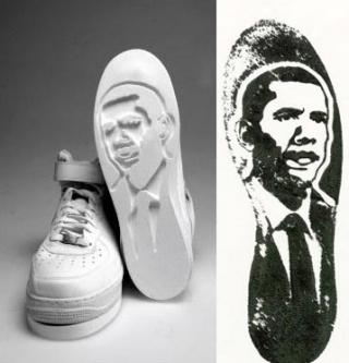 奥巴马军团一号运动鞋设计