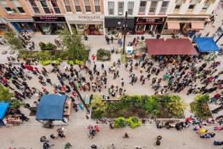 美国伊萨卡公共空间改造景观设计