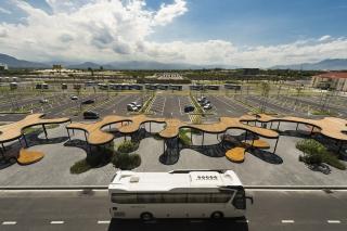 越南金兰国际机场户外空间景观设计