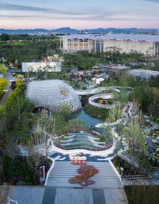 2019年中国北京世园会上海园景观设计