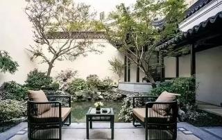 属于中国人的院子-新中式庭院,设计师的软装最新作品