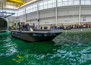 美国缅因大学3D打印7.6米长船只,创造三项世界纪录
