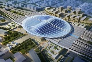 雄安高铁站地下结构封顶,预计2020年底投入使用