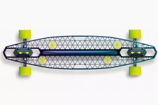轻便型镂空滑板车