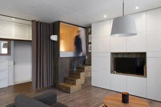 3间小巧显宽的公寓,是怎样节省空间的?