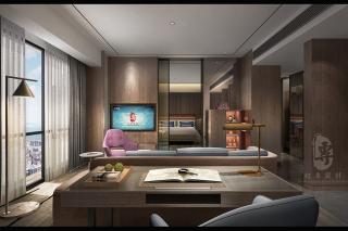 乐山专业度假酒店设计公司合理利用材料