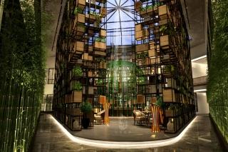 广安园林式酒店设计如何获取市场