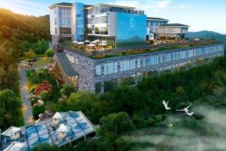 南充温泉精品酒店设计与环境融合