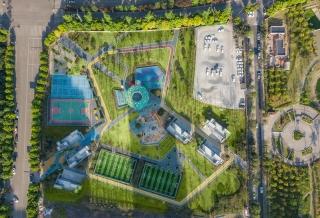 重庆心湖北体育文化公园景观设计