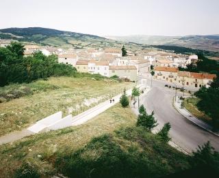 意大利Orsara di Puglia人行步道景观设计