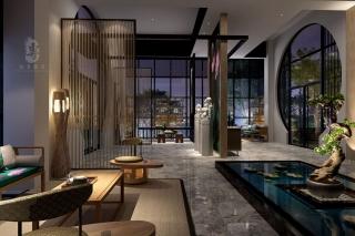 巴中中式酒店装修设计附加价值提升