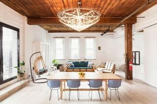 富有创意的室内设计满足工作和生活软装搭配工业风格