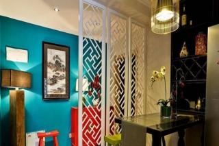 餐厅屏风效果图欣赏!客厅餐厅屏风设计效果图大全!