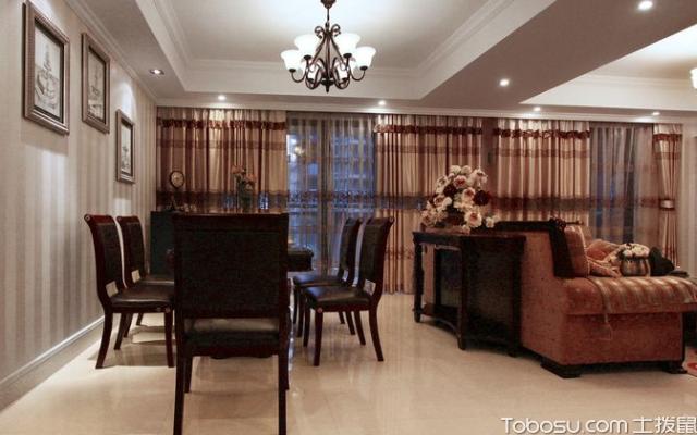 法式风格大客厅,充满浪漫情怀
