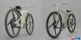 城市交通的解决方案:Eco-B概念自行车