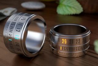 环保又好玩!显示时间的戒指设计