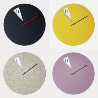 一款极简主义挂钟设计,因为独特所以难忘!