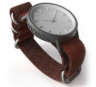 时尚的3D打印钛制手表设计