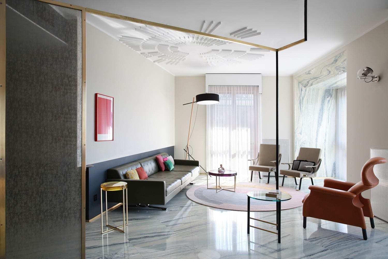 米兰当代公寓设计挑战室内设计趋势