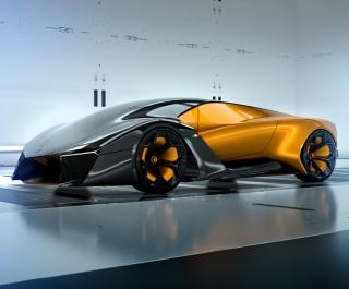 兰博基尼Belador 混合动力概念车设计方案