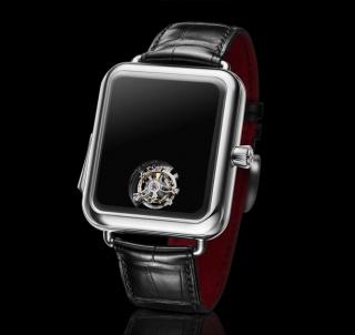 一块没有指针的手表——瑞士Alp手表概念