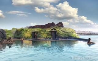 可俯瞰大西洋的豪华地热池将在冰岛开放