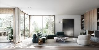墨尔本现代精简住宅,个性魅力十足