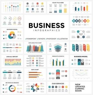 庞大的信息图库,平面设计师素材下载介绍