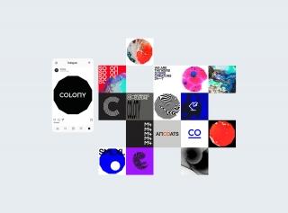 引人注目的视觉体验-COLONY 品牌策划设计